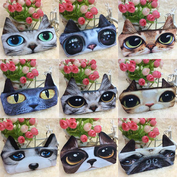 3D pencil case lapices school supplies estojo escolar menina papelaria kalem kutu cat pencilcase pen box pouch astuccio scuola