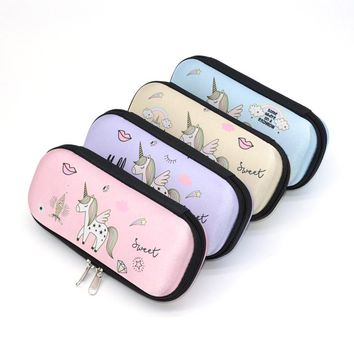 Pencil Case Etui EVA Pencilcase School Box Lapices Unicorn Kawaii Lapiceras Estuche Escolares Cases Trousse Scolaire Stylo