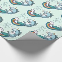 "Unicorn ""Have a Magical day"" Wrapping Paper"