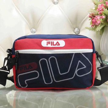 Fila Women Fashion Leather Satchel Bag Shoulder Bag Crossbody-2