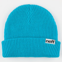 Neff Daily Fold Beanie Cyan One Size For Men 24588822301
