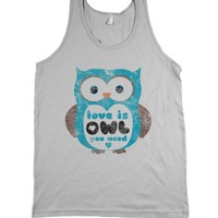 Silver Tank | Cute Love Shirts