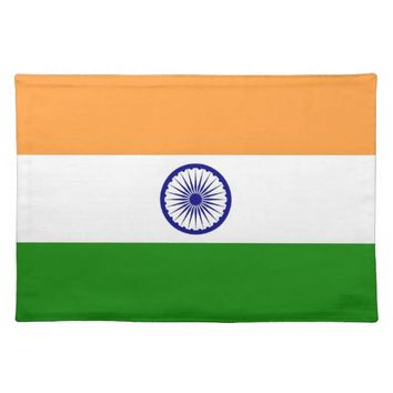 Indian Flag on MoJo Placemat