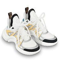 Louis Vuitton Women Men Fashion Casual Sneakers Sport Shoes