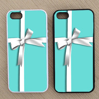 Cute Ribbon Box Tiffany & Co. iPhone Case, iPhone 5 Case, iPhone 4S Case, iPhone 4 Case - SKU: 68