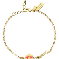 Kate Spade Tell All Happy Together Emoji Bracelet Pink Multi ONE
