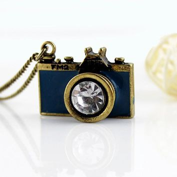 Antique Camera Neckalce
