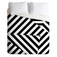 Three Of The Possessed Dazzle Uptown Duvet Cover