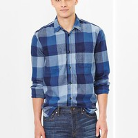 Gap Men 1969 Buffalo Plaid Worker Shirt