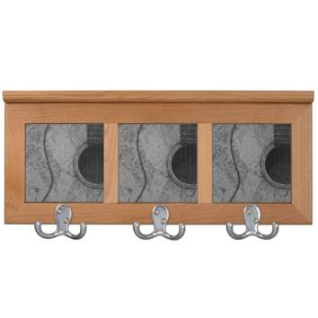 Audio Texture Coat Rack