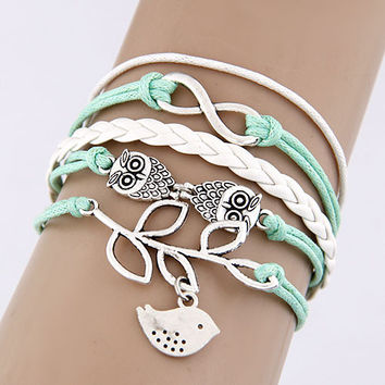 Adorn by LuLu - Little Birdies Sweet Stack in Mint