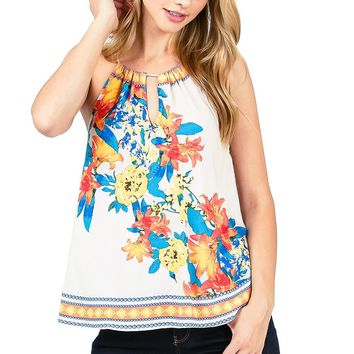 Sun Bloom Halter Top