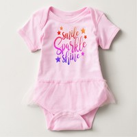 Claire Blossom SMILE Baby Bodysuit