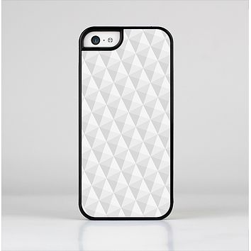 The White Studded Seamless Pattern Skin-Sert Case for the Apple iPhone 5c