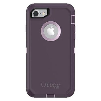 OtterBox DEFENDER SERIES Case for iPhone 8 (ONLY) - Retail Packaging - PURPLE NEBULA (WINSOME ORCHID/NIGHT PURPLE)