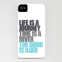 The Door is Ajar iPhone Case by ▲ Bright Enough | Society6