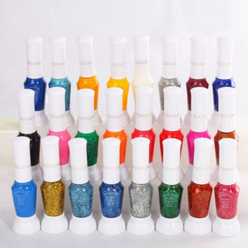 24 Colors Nail Polish Art Set