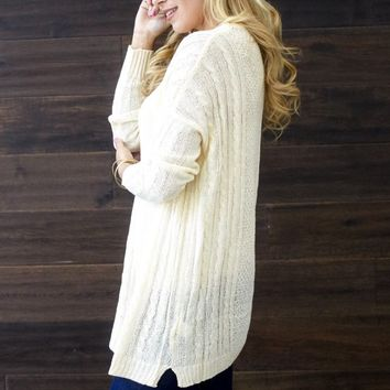 Ivory-Cable-Knit-Oversized-Sweater