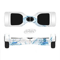 The Water Splashing Wave Full-Body Skin Set for the Smart Drifting SuperCharged iiRov HoverBoard