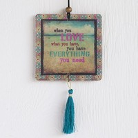 Car  Air  Fresheners:  Love  What  You  Have  Tassel  Air  Freshener  From  Natural  Life