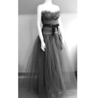The Full Length Tulle Dress Made to Order by makemeadress on Etsy