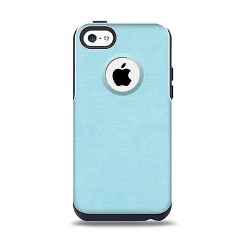 The Vintage Blue Surface Apple iPhone 5c Otterbox Commuter Case Skin Set