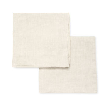 Melange Home Plain Hem Sham - Cream/Tan