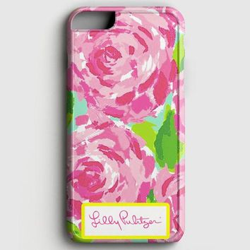 Lilly Pulitzer First Impression Rose Inspired iPhone 6 Plus/6S Plus Case | casescraft