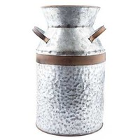 Galvanized Metal Milk Can | Hobby Lobby | 252346