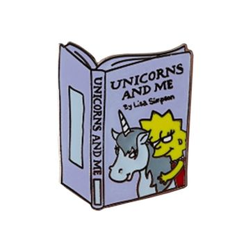 Punky Pins Unicorns & Me Enamel Pin | Attitude Clothing