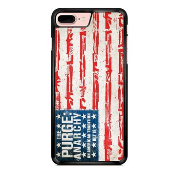 The Purge Anarchy Flag iPhone 7 Plus Case
