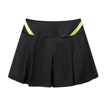 New Sport Tennis Skirt Speed Dry Loose Female Pleated Skirts Summer Badminton Skort