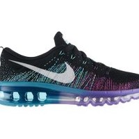 The Nike Flyknit Air Max Women's Running Shoe.
