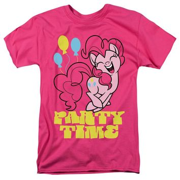 My Little Pony T-Shirt Party Time Hot Pink Tee