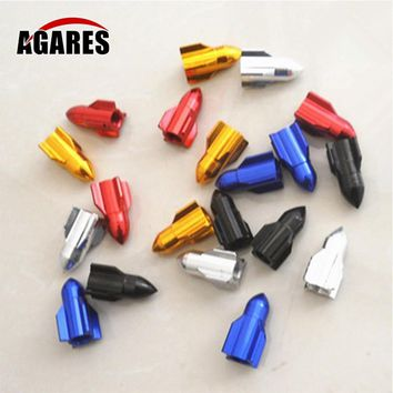 Aluminium Alloy CNC Road Bike BicycleValve Mouth Cover Tyre Valve Cap Wheel Rims Stem Air Valve Dust Cap Y12-8