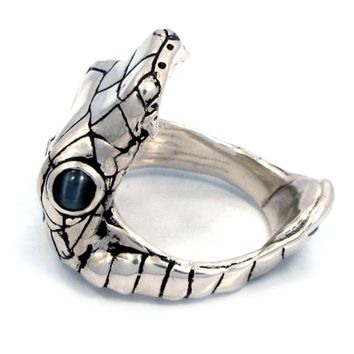 """Venom"" Ring by Han Cholo (Silver Tone)"