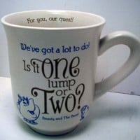 Hallmark Disney Collection DYG9634 One Lump Or Two Mug
