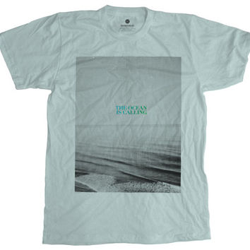 The Ocean Is Calling Seafoam T-Shirt