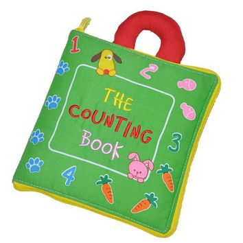 Soft Books Infant Early cognitive Development My Quiet Books baby goodnight educational Unfolding Cloth Books Activity Books DS9