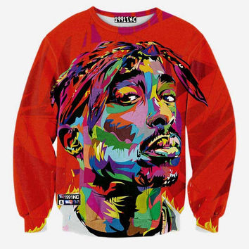 2Pac Tupac Pullover DOPE (Limited Quantity)