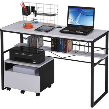 Walmart: Ellis Student Computer Desk, Black and White