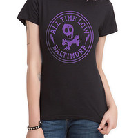 All Time Low Baltimore Girls T-Shirt