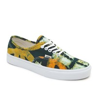 Vans Authentic Della Yellow Sneakers - Womens Shoes - Yellow