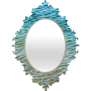 Shannon Clark Ombre Sea Baroque Mirror