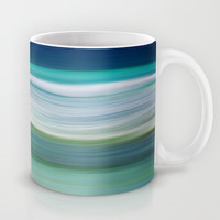 OCEAN ABSTRACT Mug by catspaws