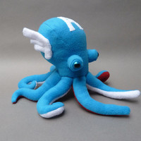 Captain America Octopus Plush