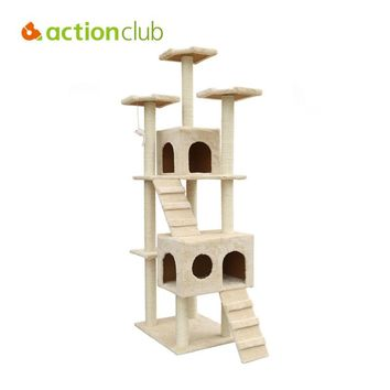Cat Tree Condo Scratching Post Furniture