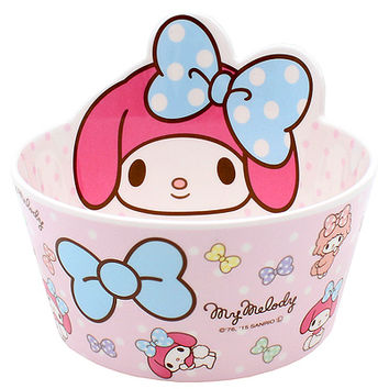 Buy Sanrio My Melody Die-Cut Melamine Bowl at ARTBOX
