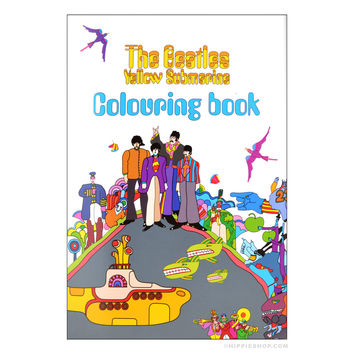 The Beatles Yellow Submarine Coloring Book on Sale for $7.99 at The Hippie Shop