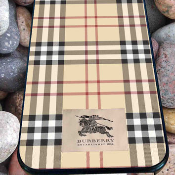 Burberry Pattern for iPhone 4/4s, iPhone 5/5S/5C/6, Samsung S3/S4/S5 Unique Case *99*